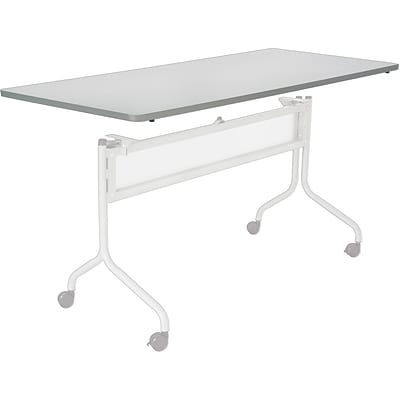 Safco® Impromptu™ 6 Mobile Training Table Top, Gray