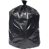 Coastwide Professional™ 40-45 Gal. Trash Bags, Low Density, 1.3 Mil, Black, 100/Carton (CW22340-CC)