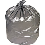 Coastwide Professional™ 55-60 Gal. Trash Bags, Low Density, 1.7 Mil, Silver, 50/Carton (CW18190)