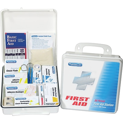 PhysiciansCare® First Aid Kits, Office Kit for 75 People, 312 Pieces
