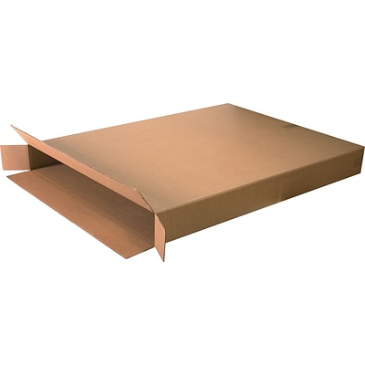 36(L) x 5(W) x 48(H) Shipping Boxes, 32 ECT, Brown, 5 /Bundle(36548FOL)