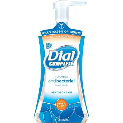 Dial® Complete Antibacterial Foaming Hand Wash, 7.5 oz.