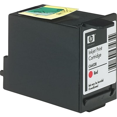 HP Red POS Ink Cartridge (C6602R)