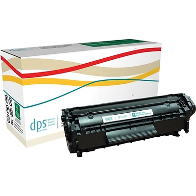 Diversity Products Solutions Remanufactured HP 12A (Q2612A) Black Laser Toner Cartridge