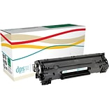 Diversity Products Solutions Remanufactured HP 36A (CB436A) Black Laser Toner Cartridge