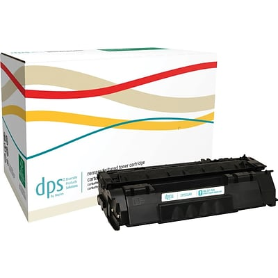 Diversity Products Solutions Remanufactured HP 53A (Q7553A) Black Laser Toner Cartridge