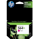 HP 564XL Magenta Ink Cartridge (CB324WN); High Yield