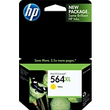 HP 564XL Yellow Ink Cartridge (CB325WN), High Yield