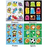 864 Piece Girls Prize Pack Stickers Set