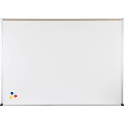 Porcelain Steel Whiteboard with ABC Trim 4X10