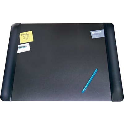Artistic® Desk Pad, 20 X 36 , Black