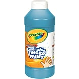 Crayola 16oz Washable Blue Finger Paint