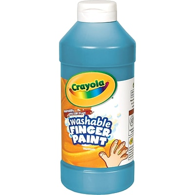 Crayola® 16-oz. Washable Finger Paint, Blue