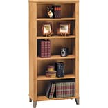 Bush® Maple Cross Bookcase