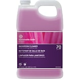Sustainable Earth #70 Restroom Cleaner Washroom Cleaner, Quick Mix, 1 Gallon, 2/CT