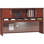 72 Dark Cherry 2-Drawer Hutch