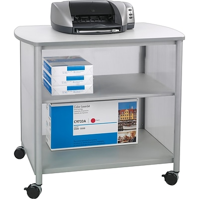Safco® Impromptu™ Deluxe Machine Stand, Silver