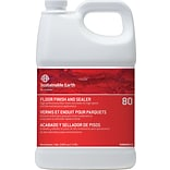 Sustainable Earth 80 Floor Care Floor Finish, 1 Gallon, 4/CT