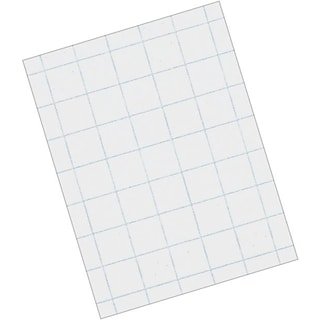 Pacon® Quadrille Ruled Graph Paper, 1/4 Ruling, 8 1/2 x 11, White, 500 Sheets