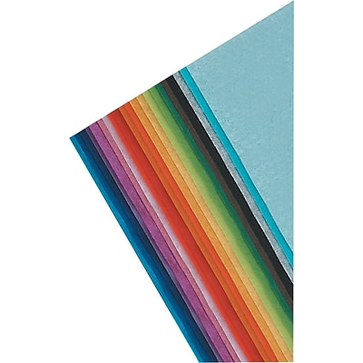 Spectra® Deluxe Bleeding Art Tissue™, 12x18, Assorted Colors, 50 Sheets