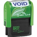 2000 PLUS® Green Line Self-inking Stamps, VOID
