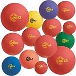 Champions Playground Ball Set, Multi-Size/Multicolor, 12/Set