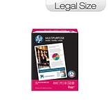 HP Multipurpose Ultra White Paper; Letter-Size, 10 Rm/Carton
