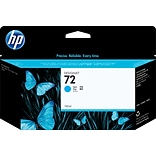 HP 72 130ml Cyan Ink Cartridge (C9371A); High Yield