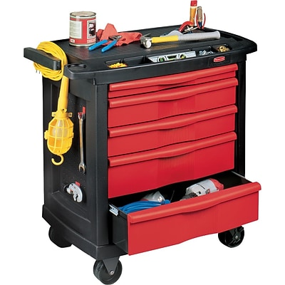 Rubbermaid® 5-Drawer Mobile Workcenter