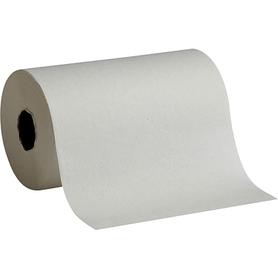 Georgia-Pacific® Sofpull® Hardwound 400 Paper Towel Rolls; White, 1-Ply, 6 Rolls/Case (26610)