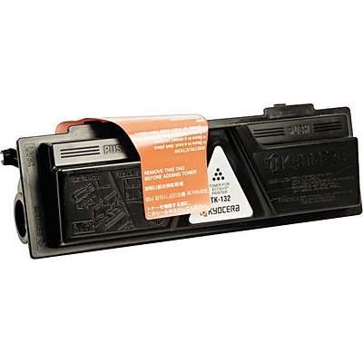 Kyocera Mita Toner Cartridge, TK-132, Black