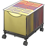 Safco® Onyx™ Mesh File Cart Cube