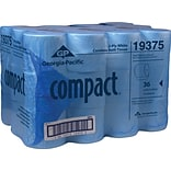 Compact®, White coreless 2-Ply Bathroom Tissue, 1000 Sheets/Roll, 36 Rolls/Case, (19375)