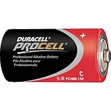 Duracell PROCELL Alkaline Battery, C, 1/Pack (PC1400)