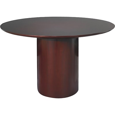 Tiffany Industries™ Napoli Executive Conference Tables in Sierra Cherry, Round 48