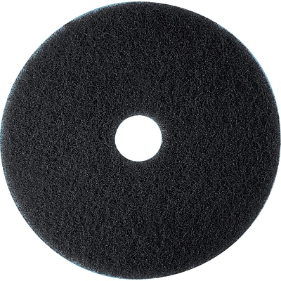 3M™ Low-Speed Floor Pad, High Productivity Stripping Pad 7300, Black, 20, 5/Ct