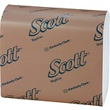 Scott® Tall Fold Dispenser Napkins, 1-Ply, 250/Pack, 40Pk/Case