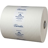Georgia-Pacific Cormatic® Hardwound Roll Towels, 1 Ply, 6 Rolls/ CT, 700 Linear Feet per roll, White