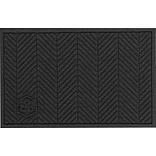M+A Matting Waterhog Eco Elite Floor Mat, Black Smoke, 4W x 6L (2240700046170)