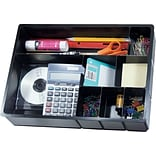 Deep Multipocket Desk Drawer Organizer, 7-C...