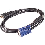 APC KVM Cable 6, Black, USB