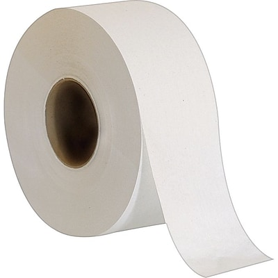 36//72//108 x White Toilet Tissue Rolls 2ply 20 PPC Quilted Embossed Paper Jumbo