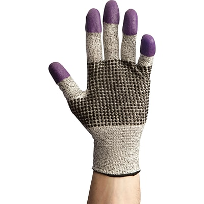 Jackson Safety® G60 Cut-Resistant Nitrile Multipurpose Gloves, Purple, Lg, Size 9, 1 Pair (97432)