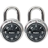Master Lock® Black Combination Padlock