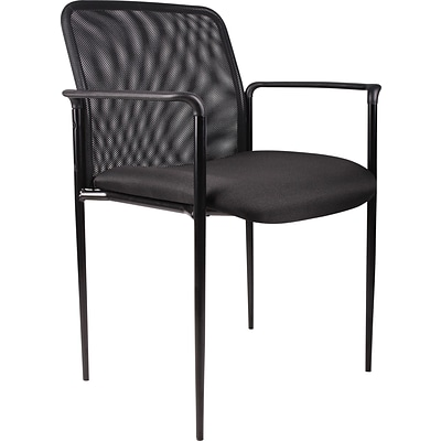 Boss® B6909 Series Mesh Stacking Guest Chair