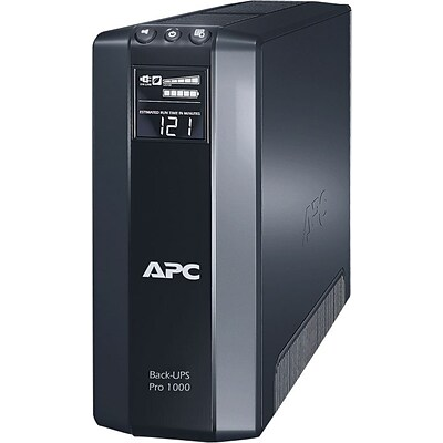 APC Power Saving Back-UPS Pro 1000VA LCD Display 8 Outlet (BR1000G)