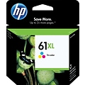 HP 61XL Tricolor Ink Cartridge (CH564WN); High Yield