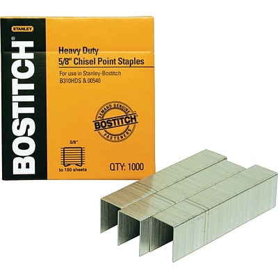 Stanley® Bostitch Heavy-Duty Staples, 5/8