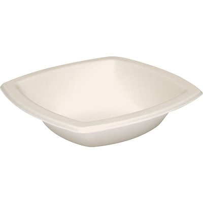 Solo® Bare® Eco-Forward® Bagasse Bowl 12 oz., Ivory, 125/Pack (12BSC-2050)