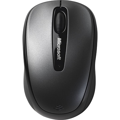 Microsoft® Wireless Mobile Mouse 3500, Grey
